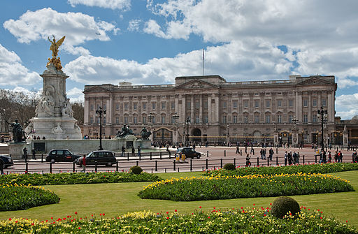 One of the most famous UK destinations Buckingham Palace