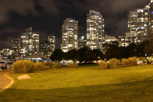 Yaletown at Night