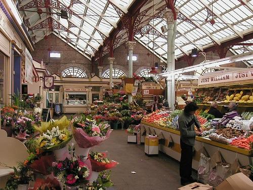 Central Market in Saint Helier