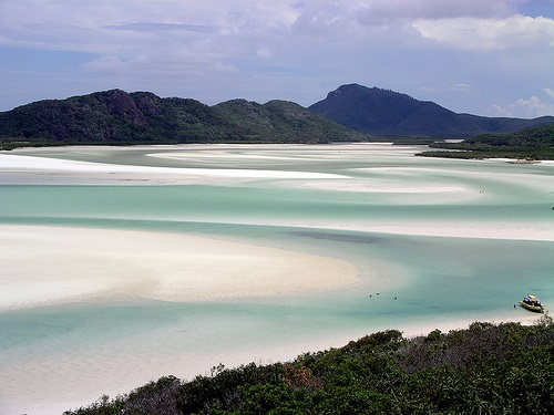 Whitsunday beach