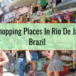 Best Shopping Places In Rio De Janeiro, Brazil
