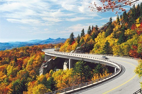 scenic drives smoky mountains