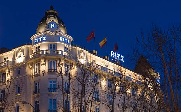 Ritz Hotel Madrid