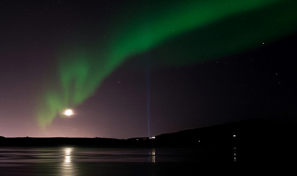 Attractive Northern Lights During Winter