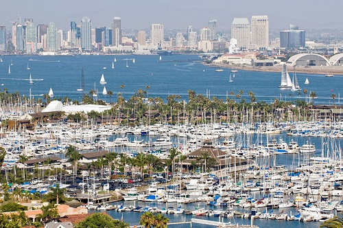 San Diego Skyline from Point Loma