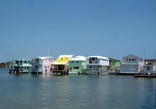 Florida Keys houseboat