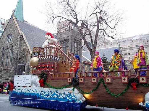 Santa Claus Parade Montreal