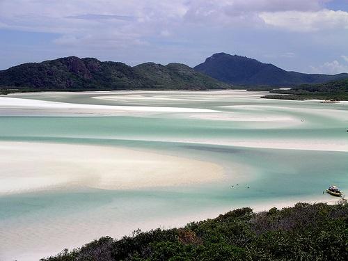 Whitsunday beach