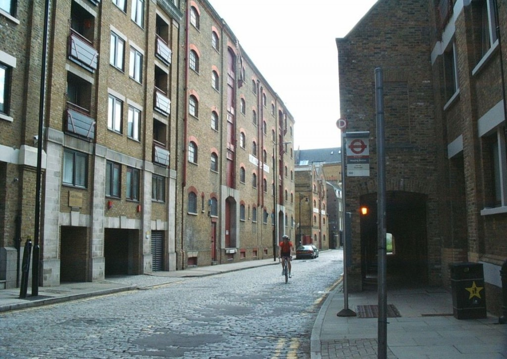 london wapping district