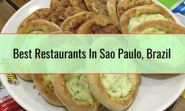 Best Restaurants In Sao Paulo, Brazil