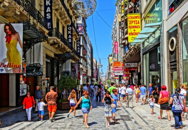 Ermou - Athens Main Street