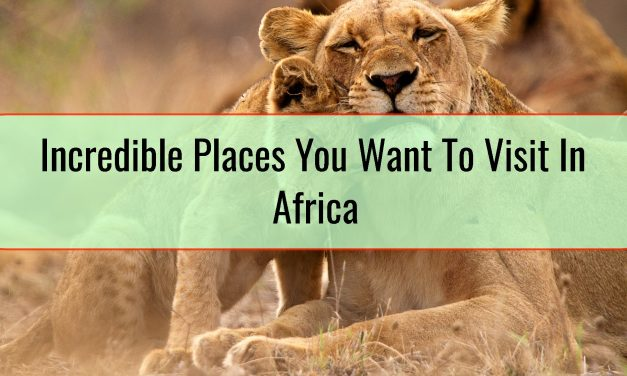 Incredible Places You Want To Visit In Africa